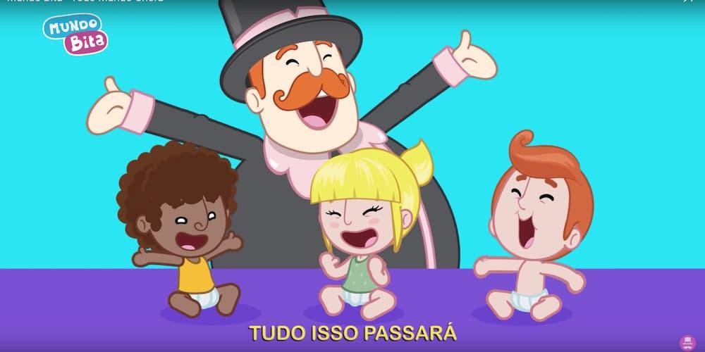 Mundo Bita lança projeto com clipes que ensinam crianças a lidarem com suas emoções